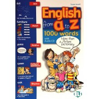 English from A to Z Book + CD