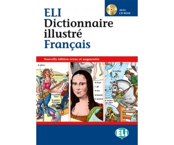 New ELI Francais Picture Dictionary + CD-ROM
