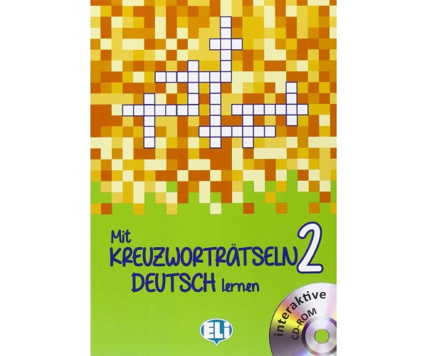 Neu Mit Kreuzwortratseln Deutsch Lernen 2 + CD-ROM