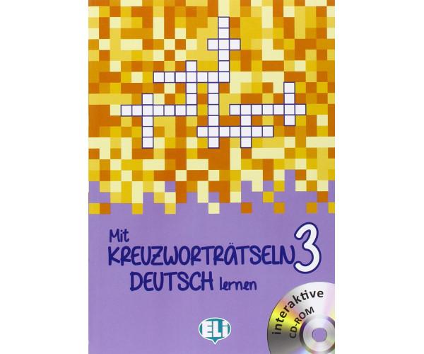 Neu Mit Kreuzwortratseln Deutsch Lernen 3 + CD-ROM