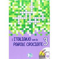 Nuovo L'Italiano con le Parole Crociate 3 + CD-ROM
