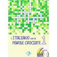 Nuovo L'Italiano con le Parole Crociate 1 + CD-ROM
