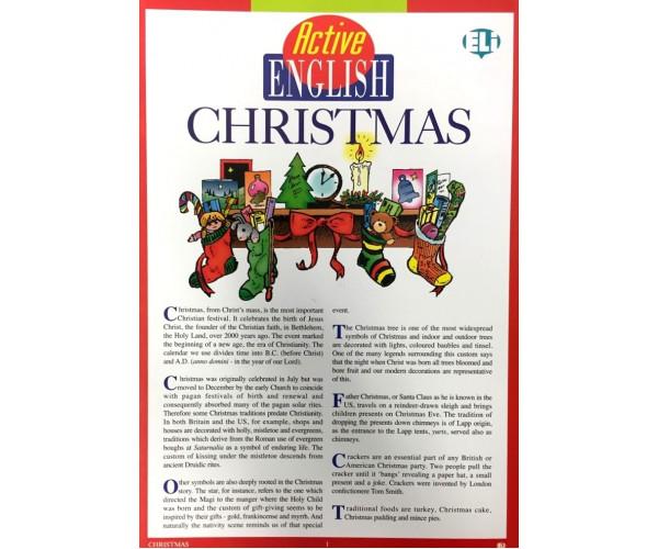 Active English Subject Christmas