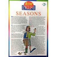 Active English Subject Seasons