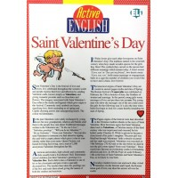 Active English Subject Saint Valentine's Day