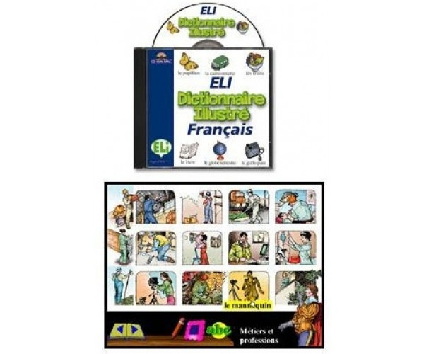ELI Francais Picture Dictionary CD-ROM
