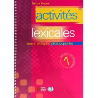 Activites Lexicales 1 Photocopiable