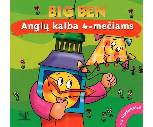 Big Ben Anglų k. 4-mečiams