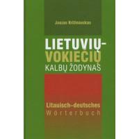 Lietuvių-vokiečių kalbų žodynas 35 t.ž.