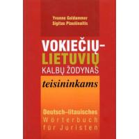 Vokiečių-lietuvių kalbų žodynas teisininkams