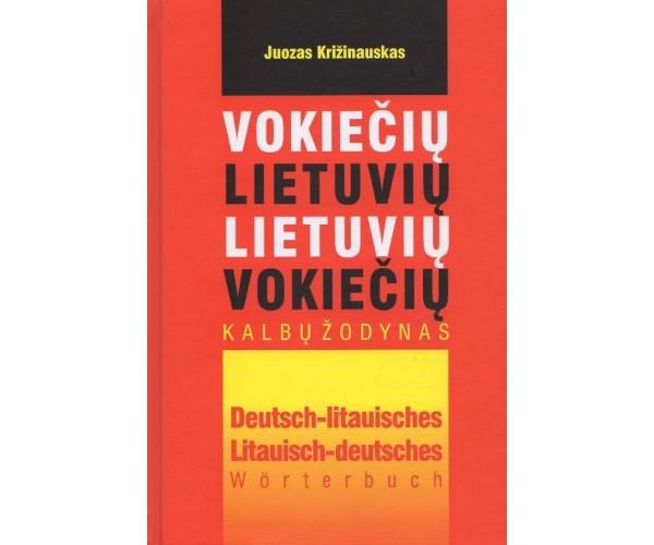 Vokiečių-lietuvių, liet-vok. k. žodynas 25+25 t.ž.