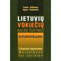 Lietuvių-vokiečių kalbų žodynas teisininkams