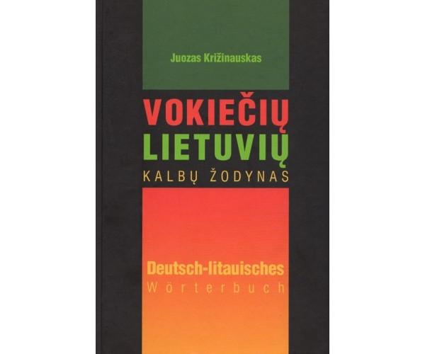 Vokiečių - lietuvių kalbų žodynas 55 t.ž.