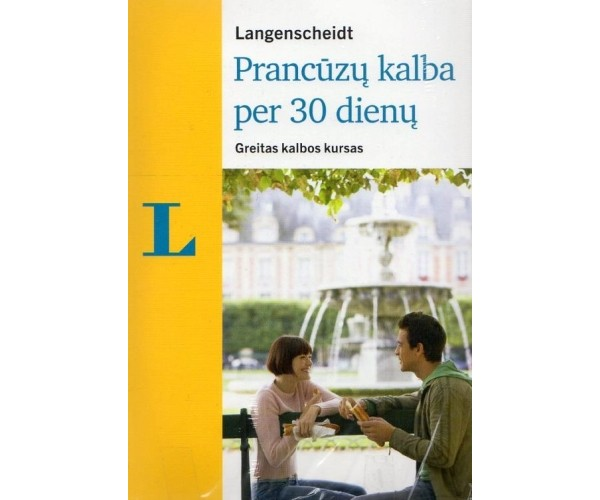 Prancūzų kalba per 30 dienų + 2 CD