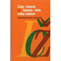 Čekų-lietuvių lietuvių-čekų k. žodynas 18+20 t.ž.