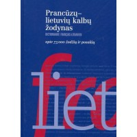 Prancūzų-lietuvių k. žodynas 75 t.ž.
