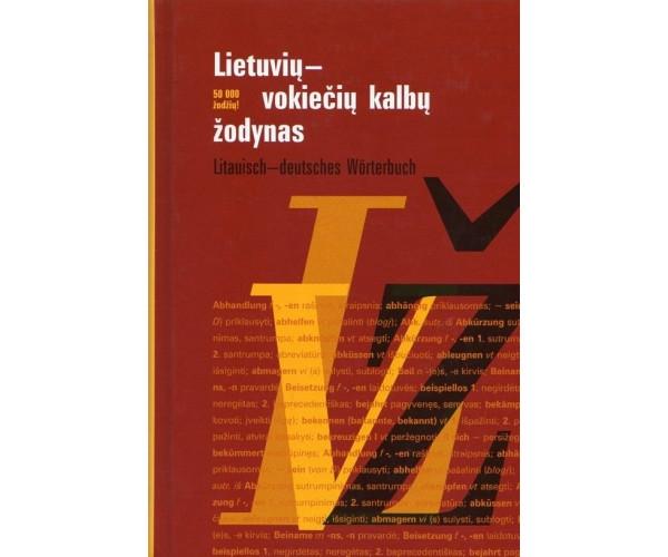 Lietuvių-vokiečių k. žodynas 50 t.ž.
