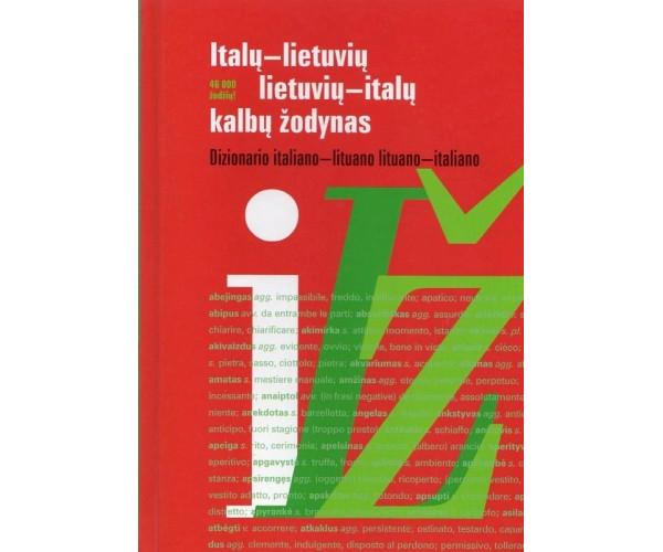 Italų-lietuvių, lietuvių-italų k. žodynas 23+23 t.ž.